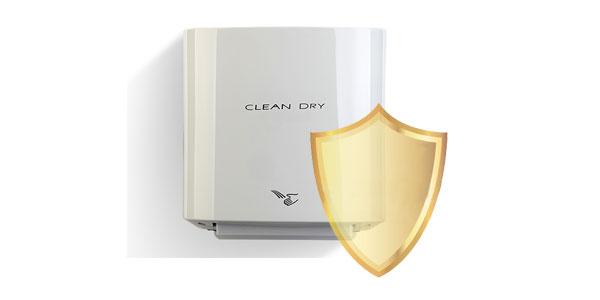 گارانتی دست خشک کن clean dri