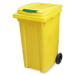سطل زباله پلاستیکی 240 لیتری-کد 4002