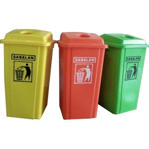 سطل زباله تفکیک زباله 70 لیتری