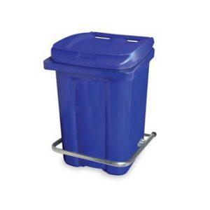 سطل زباله بیمارستانی پدالدار - 60 لیتری -کد 4013