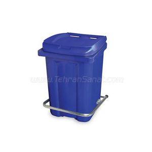 سطل زباله پدالی سبلان با ظرفیت 20 لیتری – کد محصول: 410131
