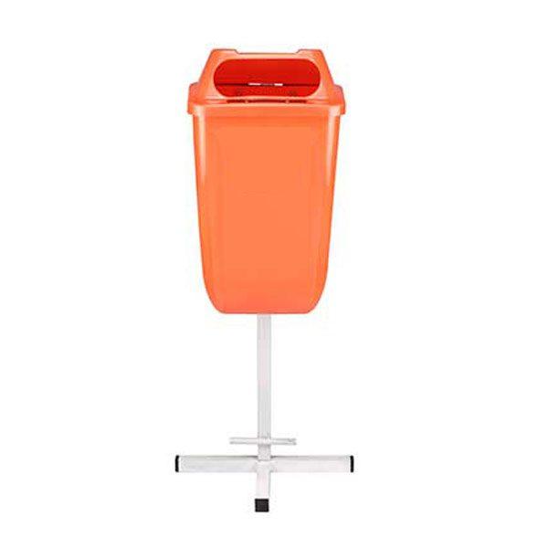 سطل زباله پارکی 50 لیتری تک پایه -کد 4301
