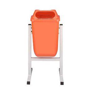 مخزن زباله پارکی 50 لیتری پاندولی -کد 4303