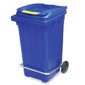 سطل زباله پلاستیکی پدالدار 240 لیتری -کد 4003