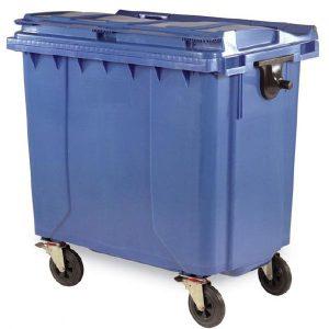 مخزن زباله پلی اتیلن 770 لیتری شهری- کد 4502