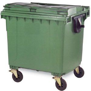 مخزن زباله پلی اتیلن 1100 لیتری- کد 4503