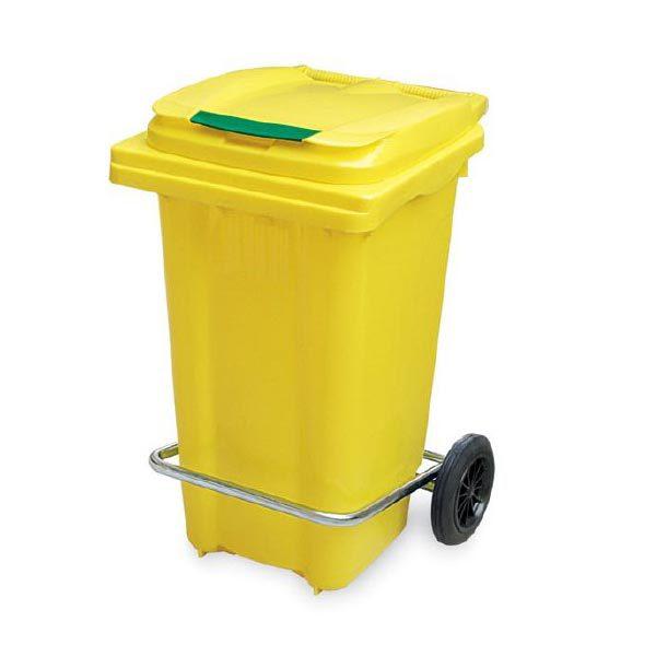 سطل زباله پدالدار - 100 لیتری -کد 4008