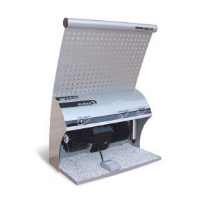 دستگاه واکس کفش MTCO مدل الماس3 - دو برس تک مخزن-کد 1021