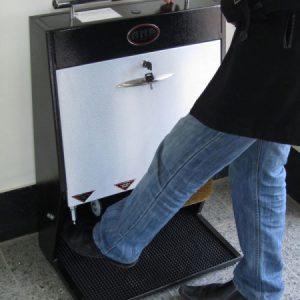 دستگاه واکس کفش آنا دو برس تک شیر-کد 1003