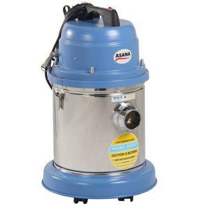 جاروبرقی نیمه صنعتی آسانا یک موتور آب و خاک- کد 2504