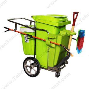 گاری جمع آوری زباله -کد 493