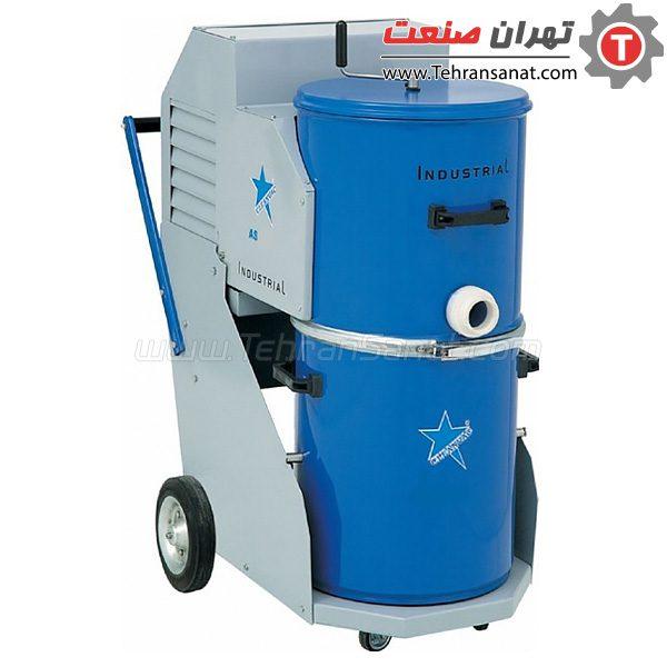 جاروبرقی صنعتی سه فاز دائم کار Cleanvac مدل AS 1000 -کد 310085