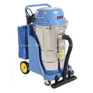 جاروبرقی صنعتی آسانا دو موتوره آب و خاک-کد 2020