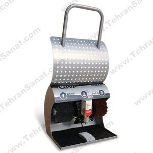 دستگاه واکس کفش MTCO مدل الماس 10 - دو برس تک شیر-کد 1018