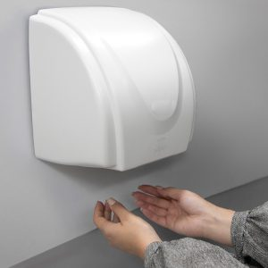 نحوه خشک کردن دست توسط دست خشک کن