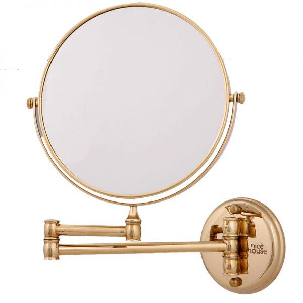 آینه اصلاح حمام دیواری با بزرگنمایی 5x
