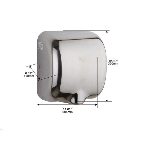 دست خشک کن جت Sitco مدل XLERATOR eco استیل مدل 8888 -کد 7764