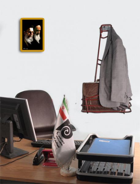 رخت آویز اداری و نگهدارنده کیف - کسری