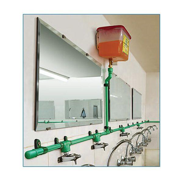 لوله کشی مایع صابون سرویس بهداشتی - کد 670007