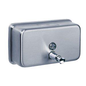 جای مایع دستشویی دیواری افقی BIMER 800ML مدل BM-800H