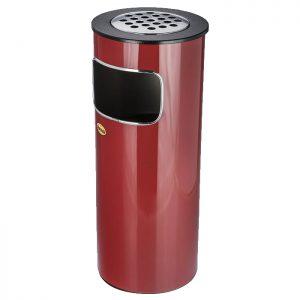 سطل زباله جا سیگاری دار مدل F4 - کد 584