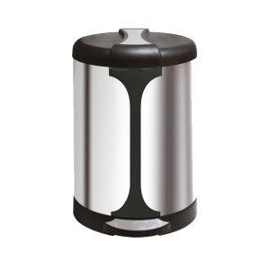 سطل زباله اداری پدال دار 20 لیتری مدل A-45- کد 558