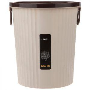 سطل زباله اداری با حلقه نگهدارنده نایلون بزرگ مدل 1317 - کد 641