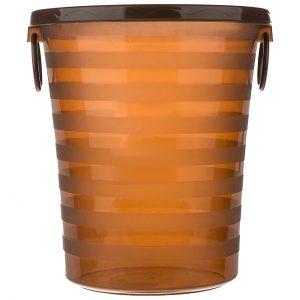 سطل زباله اداری با حلقه نگهدارنده نایلون بزرگ مدل 6620 - کد 643
