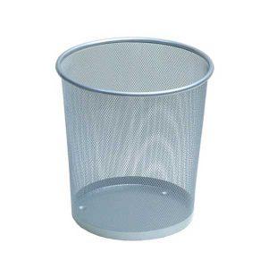 سطل زباله اداری فلزی - توری بزرگ- کد 580