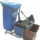 ترالی نظافت (تی شوی دو مخزن، سطل زباله) مدل 210