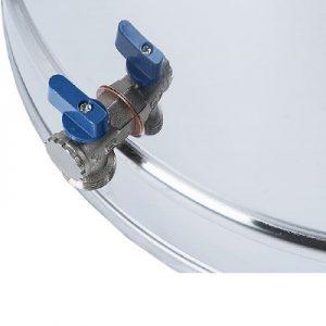شیر-مخزن جهت تخلیه آسان آب مخزن